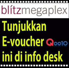 [Superday Event] 38% OFF blitzmegaplex Movie Ticket!