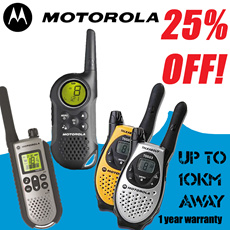 Original Motorola Walkie Talkie T5583 T6 T7 T8 wireless com 1-year warranty.