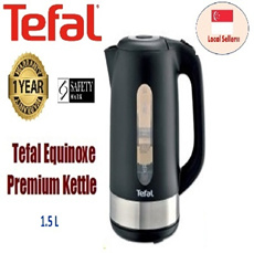 TEFAL Premium Kettle Equinoxe ~ 1 Year Warranty!! The Lowest Price in Town!!! [Promotion price limited for 38 units only]