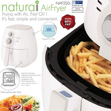[Naturai] Premium Air Fryer with Safety Mark approval! Store Pick-up available! Stocks in Town!!!