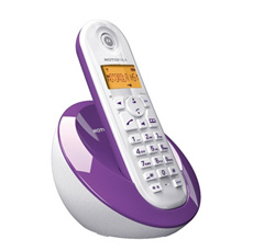 Motorola wireless phone Dect phones. IDA approved.Single double handsets