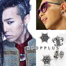  BIGBANG G-DRAGON (Jiywong) - Hearts Piercing/Earring/Magnet #BB85