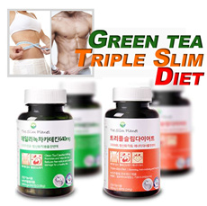 [Green tea Diet] Daily Green tea Catechin 640mg / Get Slim! Big discount for 3pcs at once! Reduce bo