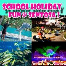 $28 for Sentosa Day Tour: Underwater World+Luge and Sky Ride+Dolphin Show+Song of the Sea!!