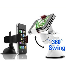 Universal Handphone Car Mount Holder for Samsung / Ipad / Iphone / HTC / Nokia / LG