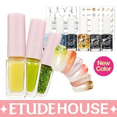 [Etude House]♣ JUICY COCKTAIL GRADATION NAIL / Launched a new color !  / GRADATION NAIL [Point makeu