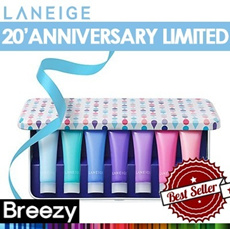 BREEZY ★ LANEIGE 20th Anniversary Limited [Laneige] Water Bank Gel Cream _ EX 10ml * 7ea / New Essence 60ml / New Gel cream 50ml / New Moisture Cream 50ml / New Eye Gel 25ml / Amorepacific /