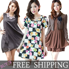 ♥$8.90 LAST DAY SALE♥3 Free Shipping Dress Tops Leggings Pants Shorts Skirts Blouse Shirts