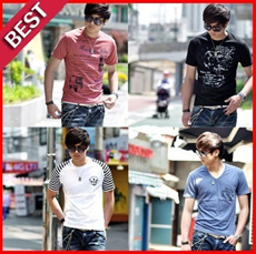 [TNT Fashion] No.1 Popular Item★Made in Korea★Best Short Sleeve Graphic T-Shirts ★unisex T-Shirts.