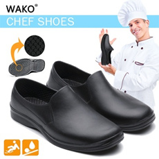 ▶High Functional Non-Slip Safety Shoes◀GBE-Lightweight and Non slip Chef Shoes