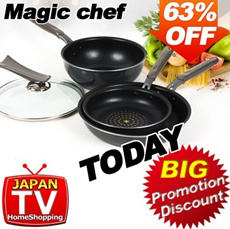 [Magic chef] Top Talk 4 types of Diamond Coated Frying pan / frying pan /made in korea / japan home