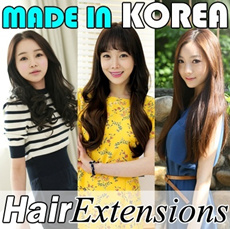 ◆◆Fashion Wigs◆◆ Hair Extensions Wig Highlights Hair Piece Straight Point Wave Short Long Extension made in Korea high quality