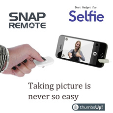 [SPECIAL PROMOTION ] SNAP-REMOTE -By UK thumbsup  taking picture remotely with your mobile phone - supports IOS  Android  Samsung  Apple