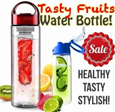 Tritan Fruit Water Bottle (Infuse Water) / 2 Botol Tabung Shake n Take Personal Juicer *Best Seller as seen on TV* |