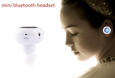 2014 Latest Super Mini Universal Wireless Stereo Bluetooth V3.0 V4.0 Headset Earpiece Headphone for ALL TYPES of HANDPHONE TABLET xiaomi. Able to listen to music voice command