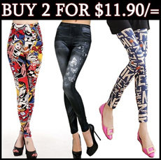 [UPDATED: 23/9]♥2 for $11.90 NETT!♥ Korea Style Legging/Candy Colour Tights/Slim Design Pant/Safety Shorts/Trousers/Lacy Pants