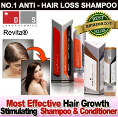 Buy 2 Free 1★No.1 Stem Cell Technology Anti-Hair Loss Shampoo★ DS Laboratories Revita® High Performance Hair Growth Stimulating Shampoo/ Conditioner 180ml