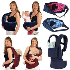 ❤ Baby Sling Baby Car Seat Harness Tot Seat Carrier Mother Care Hip Seat ❤