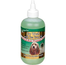 Dog Ear Wash: NaturVet Ear Wash with Tea Tree Oil