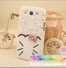 Hello:Iphone 5/Samsung Galaxy S3 Kitty case Note2 Flip cover Anti dust earphone plug/cap