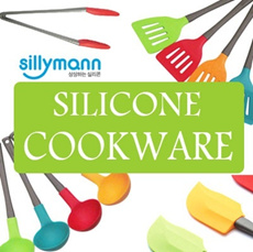 SILICONE COOKWARE/100% Platinum Silicone/spatula/Cook/Tongs/ ladle/Made in Korea/Rainbow Color