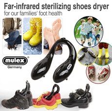 Far-infrared sterilizing shoes dryer / dry shoe / drying