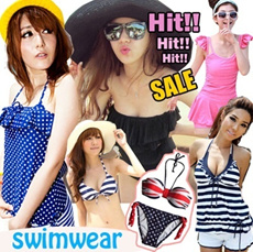 ★Free shipping★Fashionable Swimwear 2013 ♥ Hot Sexy bikinis ♥ Uk Style Swimsuit ♥