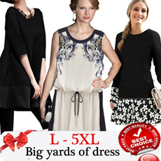 Europe and the United States/bigger sizes/dress S - XXXXXL Buy 2 Free Express Shipping