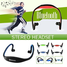 New Update-ONLY TODAY 16.9 ▶New Sports Bluetooth Stereo Headset◀GDC-True Freedom For Music and Telephone Conversation/Sportive look and Ergonomic design/ 3 styles are available