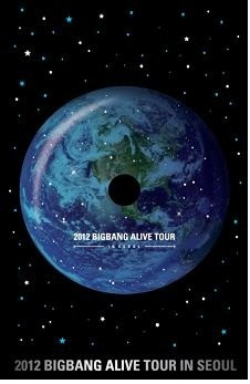 2012 BIGBANG LIVE CONCERT DVD [ALIVE TOUR IN SEOUL][sales on Jan 29]
