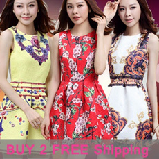 [Buy 2 free shipping]11/16 Now push  Korea Style  Hot selling Casual/sexy/dating/work Dress/Tops