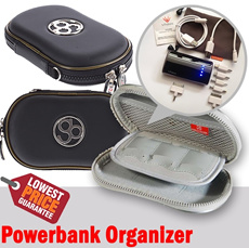 Powerbank Organizer (Portable Protective Airform Bag for PSP go) Multifunction