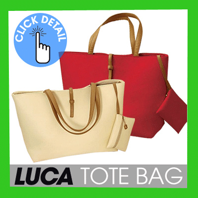[WOMAN ACCESSORIES] LUCA TOTEBAG_AVAILABLE IN 8 COLORS