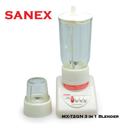 Sanex MX-T2GN 3 in 1 Blender - Putih