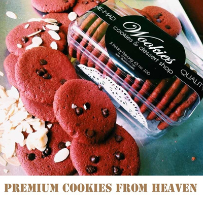 Premium Cookies from WOOKIES (6 Variants Flavour)