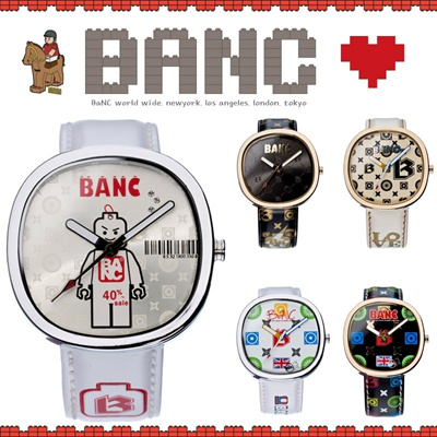 [BANC]Premium Collection 9types / No optional price / Leather Watch / Unisex