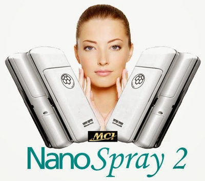 NANO SPRAY+CHARGER 2nd GENERATION(asli MCI bukan ibeauty atau emily)+ Beauty MAGIC STICK - ORIGINAL!!! BERGARANSI.KALAU MAU BELI NANO SPRAY 2 + MAGIC STICK - PILIH OPTION COMBO