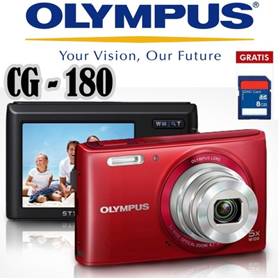 Olympus Camera Digital VG 180 16MP Bonus SDHC 8GB