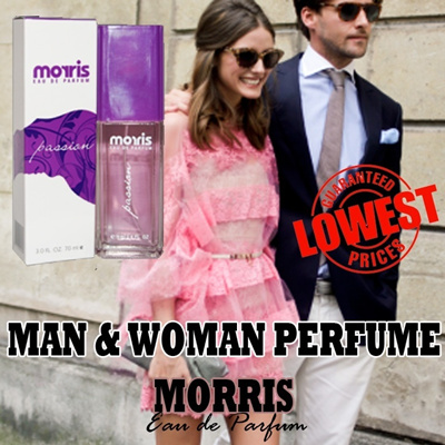 ★LOWEST PRICE!! PROMISE★MORRIS PERFUME 70 ml★MAN  AND WOMAN★