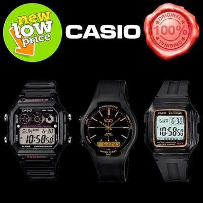 *NEW STOCKS*[LOWEST PRICED]*CASIO GENUINE* SPORTY DIGITAL WATCHES! 1 year warranty!