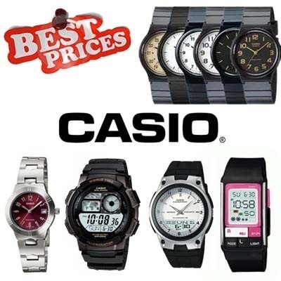 CASIO 100% AUTHENTIC [1 Year guarantee] MAN and WOMAN Standard