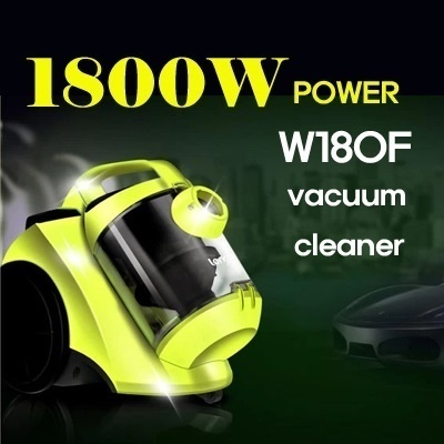 All-In-One 1800W Super Turbo Power Anti Bacterial Vacuum Cleaner + Brush to Kill Mites on Bed Super Powerful Machine
