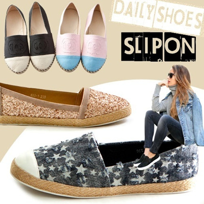 [issue it shoes] 2014 S/S New arrival★slipon/loafer/flat/innerheel flat★korean preferred design