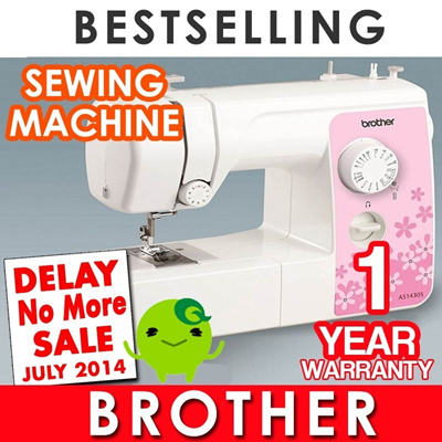 {Limited Time Sale}Brother Sewing Machine. Model: AS1430S. Latest Model. With 14 stitch number. Sew design repair your clothes in the comfort of your own home.