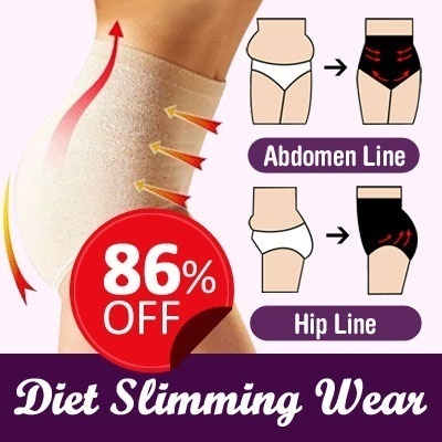 100% Positive feedback!!Japan Diet Slimming Wear / High-Waist Abdomen Shaping Panty
