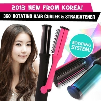 korea 360˚ Rotating Hair styler / hair curler for all hair length