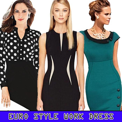European Style Work Dress / Bodycon Dress