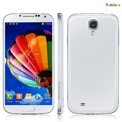 Air Gesture Perfect 1:1 Original 5 S4 Phone I9500 Dual Core Phone MTK6577 8MP 1GB RAM 4GB ROM Andro