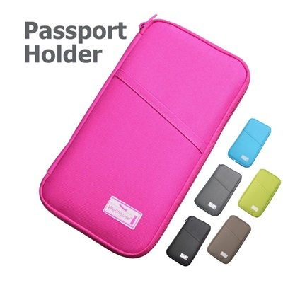 Wellhouse Waterproof Travel Pouch for Passport Boarding Pass