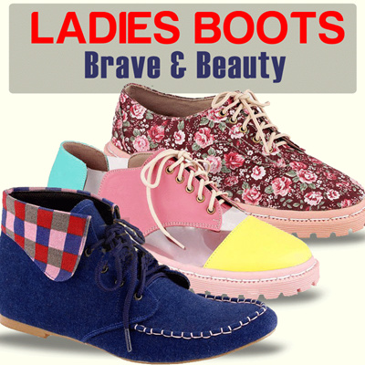 LADIES BOOTS - Brave and Beauty